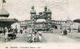 FRANCE -  DIEPPE - L'Entre Du Casino  1926 By LL - Dieppe