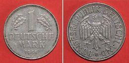Pièce De Monnaies Allemagne - 1 Deutsche Mark 1956 D - Monnaies