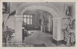 Royaume-Uni - Bushey Heath - Rosary Priory Caldecote Towers -  Entrance Hall - Herefordshire