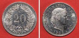 Pièce De Monnaies Suisse 20 Rappen 1988 B - Monnaies