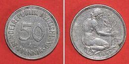 Pièce De Monnaies Allemagne - 50 Pfennig 1967 J - Monnaies