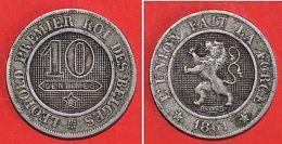 Monnaies Belgique - 10 Centimes 1861 - Monnaies