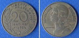 Monnaies Ancienne - 20 CENTIMES MARIANNE 1962 - France