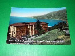 Cartolina Riviera Dei Fiori - Ospedaletti - Hotel Miramare - Centro A.T.M. 1965 - Imperia
