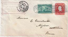 CTN49-12 - ETATS UNIS EP ENVELOPPE CIRCULEE MARS 1904 - Entiers Postaux