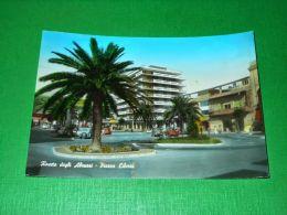 Cartolina Roseto Degli Abruzzi - Piazza Libertà 1965 - Teramo