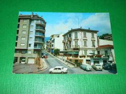 Cartolina Ospedaletti - Via Roma 1986 - Imperia