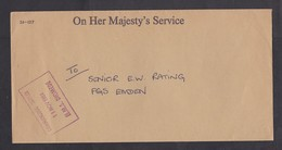 UK: Official Cover, 1984, OHMS, Commanding Officer HMS Diomede, Navy, Military (minor Crease) - 1952-.... (Elizabeth II)