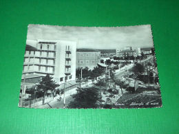 Cartolina Rimini - Alberghi Al Mare 1958 - Rimini