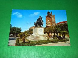 Cartolina Gravina ( Bari ) - Monumento Ai Caduti - Torre Dell' Orologio 1960 Ca - Bari