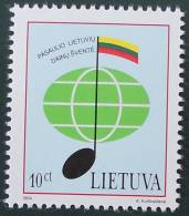 FESTIVAL DE LA CHANSON 1994 - NEUF ** - YT 486 - MI 560 - Lithuania