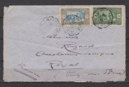 """Sénégal - N° 102 Et 103 Obli/sur Lettre Avec Cachet """" Courriers Convoyeurs """" -  10/12/1935 - Briefe U. Dokumente"""