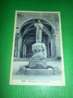 Cartolina Rieti - Monumento A S. Francesco 1931 - Rieti