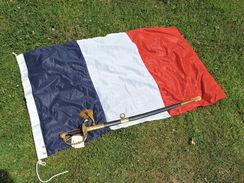 PAVILLON FRANCE MARINE NATIONALE TAILLE N°15 ETAT NEUF - Flags