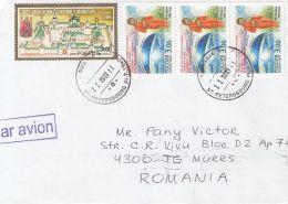 61943- VALENTINA TERESHKOVA, MONASTERY, STAMPS ON COVER, 2003, RUSSIA - 1992-.... Fédération