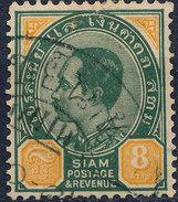 Stamp THAILAND,SIAM  1899 Used Lot#58 - Tailandia