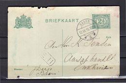 Raderstempel Baarn 1915 > K. Tensen Aardappelhandel Enkhuizen (ek1) - Storia Postale