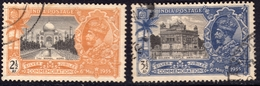 India 1935 S. Jubilee 2.5 A & 3.5 A SG244-5 - Fine Used - 1911-35 Roi Georges V