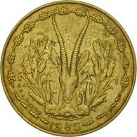 West African States, 5 Francs, 1985, Paris, SPL, Aluminum-Nickel-Bronze, KM:2a - Monnaies