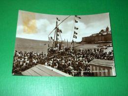 Cartolina Termoli - Festa Di S. Basso Al Mare 1945 Ca - Campobasso