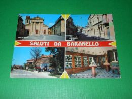 Cartolina Saluti Da Baranello ( Campobasso ) - Vedute Diverse 1989 - Campobasso