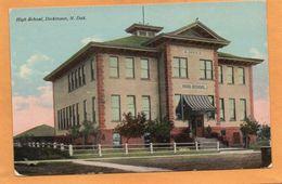 Dickinson ND 1910 Postcard - Dickinson