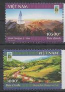 VIETNAM, 2017, MNH, TOURISM, LAO CAI, MOUNTAINS, 2v - Other
