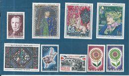 France Timbres De 1964  N° 1423 A 1431  Neuf ** Sans Charnière - France