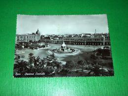 Cartolina Bari - Stazione Centrale 1957 - Bari