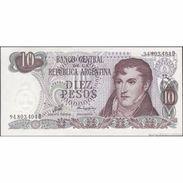 TWN - ARGENTINA 300 - 10 Pesos 1976 Serie D - Signatures: Porta & Zalduendo AU - Argentina