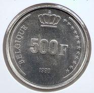 BOUDEWIJN * 500 Frank 1990 Frans  BELGIQUE * PRACHTIG / F D C * Nr 9332 - 1951-1993: Baudouin I
