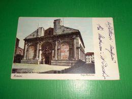 Cartolina Rimini - Tempio Malatestiano 1910 Ca - Rimini