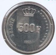BOUDEWIJN * 500 Frank 1990 Vlaams  BELGIE * PRACHTIG / F D C * Nr 9335 - 1951-1993: Baudouin I