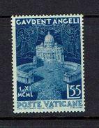 VATICAN...1951...Scott#144...mh - Unused Stamps