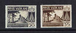 VATICAN...1954...Scott#185-86...mh - Unused Stamps