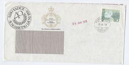 1978 LIECHTENSTEIN  COVER Stamps  Royalty Event Advert - Liechtenstein