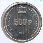 BOUDEWIJN * 500 Frank 1990  BELGIEN * Prachtig / F D C * Nr 9343 - 1951-1993: Baudouin I