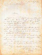 LAS.C.P.SERRURE,historien Et Paléographe Belge.Professeur à GAND.GAND Le 11 Octobre 1835. - Autographs