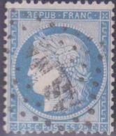 France 1849 - 1900 N° 60 25c Cérès Bleu Oblitéré ASNA TB état : Obl Cote: 0 € - 1871-1875 Cérès