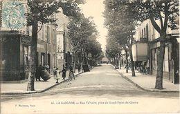 La Garenne Colombes - P Marmuse 66 - La Rue Voltaire Prise Du Rond Point Du Centre - La Garenne Colombes