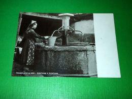 Cartolina Pragelato - Costume E Fontana 1960 - Non Classificati