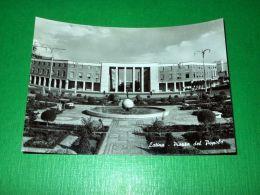 Cartolina Latina - Piazza Del Popolo 1960 Ca. ( N. 1 ) - Latina