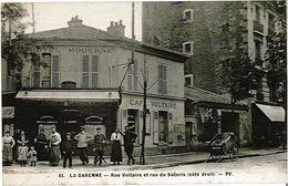 La Garenne Colombes - Pf 65 - Rue Voltaire Et Rue De Sartoris Côté Droit - La Garenne Colombes