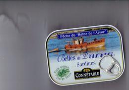 Boîte Sardines Pêche Du Reine De L'Arvor Connétable DOUARNENEZ - Puxisardinophilie Clupéidophilie - 2009 Eric Chacerelle - Altre Collezioni