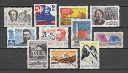 URSS 1964  N. 11 Valori Vari     -   Postfrisch  -  Vedi  Foto ! - 1923-1991 USSR