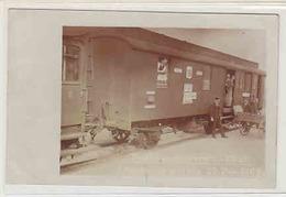 Eisenbahn-Postwagen - Animierte Fotokarte V Postbeamtenverein Chur - Int. Stempel 1909       (P-53-00203) - Correos & Carteros