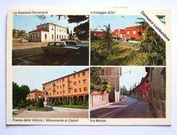 Cartolina Cernusco Lombardone - Vedute Diverse 1994 - Lecco