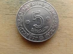 Algerie  5  Dinars  1972  Km 105 - Algérie