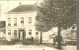 Moerbeke - Waas  :  Het Gemeentehuis - Moerbeke-Waas