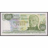 TWN - ARGENTINA 303b2 - 500 Pesos 1977-82 Serie C - Signatures: Lopez & Diz UNC - Argentina